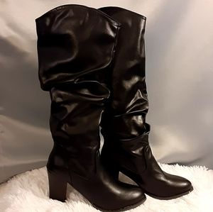 NWOT Slouch Boots